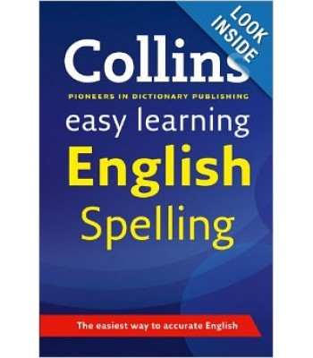 Collins Easy Learning English Spelling