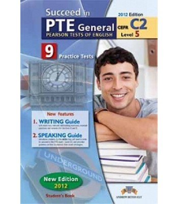 Succeed in PTE General Level 5 (C2) 9 Teste praktike