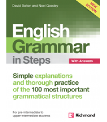 English Grammar in Steps Book with Answers