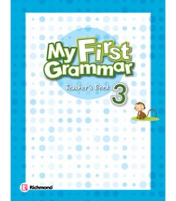 My First Grammar 3 Teacher's Guide
