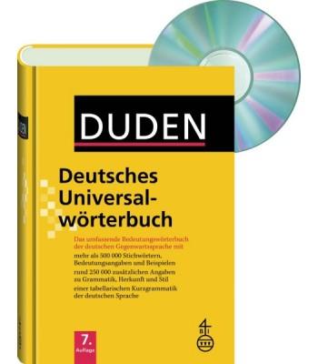 Deutsches Universalwörterbuch me CD-ROM