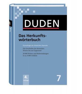 DUDEN Band 7 - Herkunftswörterbuch