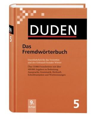 DUDEN Band 5 - Das Fremdwörterbuch