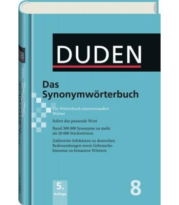DUDEN Band 8 - Das Synonymwörterbuch