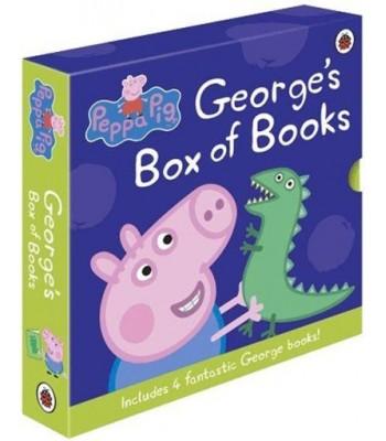 Peppa Pig George's Box of Books