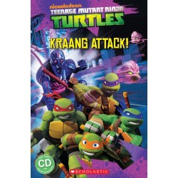 Teenage Mutant Ninja Turtles: Kraang Attack! (Book and CD) - Level 2