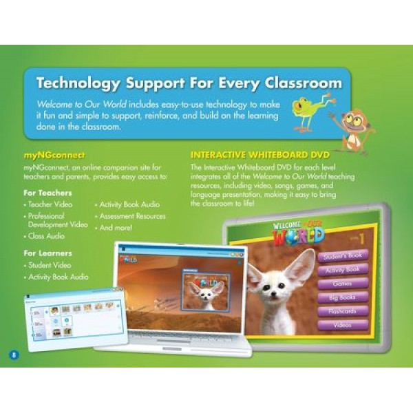 Welcome to Our World 1 Interactive Whiteboard Software