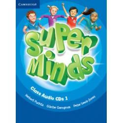 Super Minds Level 1 Class Audio CDs (3)