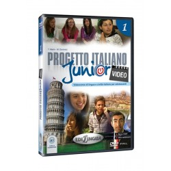 Progetto italiano Junior Video 1 – DVD (PAL)