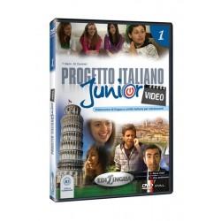 Progetto italiano Junior Video 1 – DVD (PAL)
