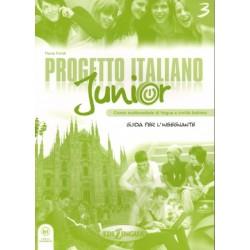 Progetto italiano junior 3 - Guida per l`insegnante