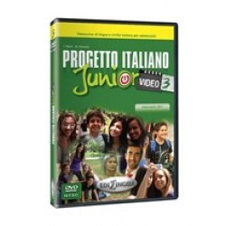 Progetto italiano Junior Video 3 – DVD (NTSC)