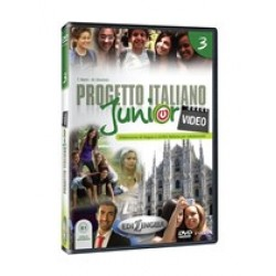 Progetto italiano Junior Video 3 – DVD (PAL)