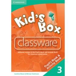 Kid's Box 3 Classware CD-ROM
