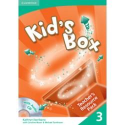 Kid's Box 3 Teacher's Resource Pack with Audio CD