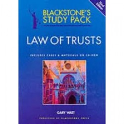 Law of Trust (Blackstones's Study Packets)