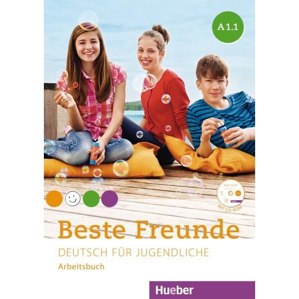 Beste Freunde A1/1 - Arbeitsbuch mit CD ROM