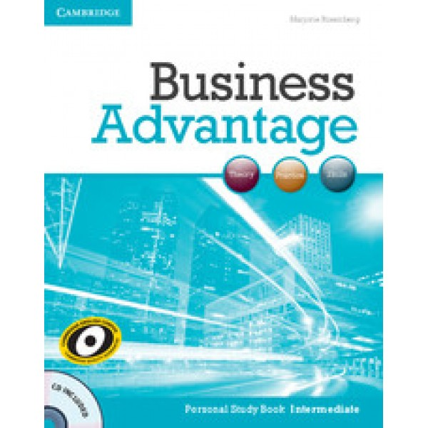Business Advantage - Personal Study Book with Audio CD