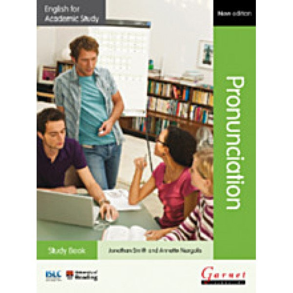 English for Academic Study: Pronunciation - Study Book with audio CDs