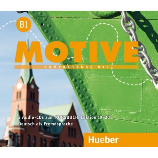 Motive B1 - Audio-CDs zum Kursbuch Lektion 19-30