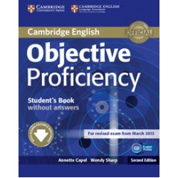 Objective Proficiency 2nd Edition Student's Book without answers + Downloadable Software