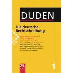 DUDEN Band 1 - Die deutsche Rechtschreibung