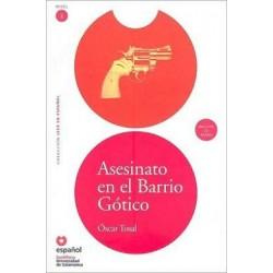 Asesinato en el barrio gótico (Libro+CD)