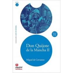 Don Quijote de la Mancha II (Libro+CD)