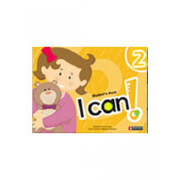 I CAN 2 STUDENT+STICKERS+CD