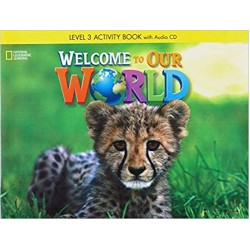 Welcome to Our World 3 Classroom Audio CD