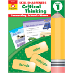 Critical Thinking, Grade 1 Skill Sharpeners