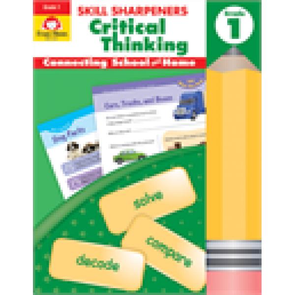 Critical Thinking, Grade 1 Skill Sharpeners