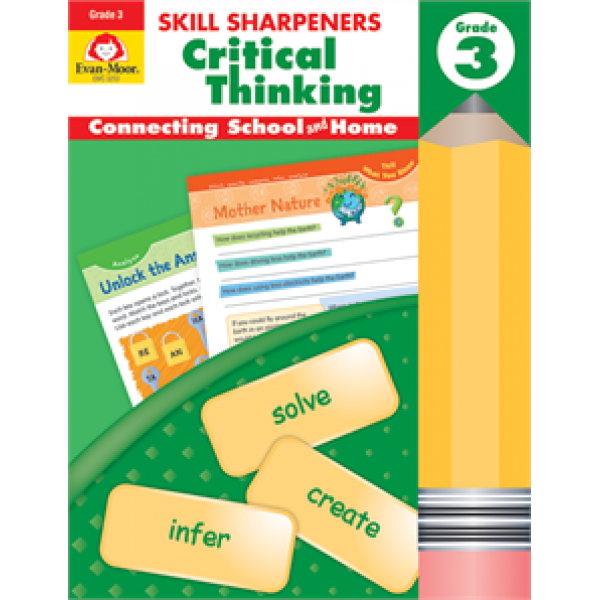 Critical Thinking, Grade 3 Skill Sharpeners