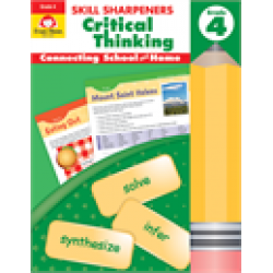 Critical Thinking, Grade 4 Skill Sharpeners