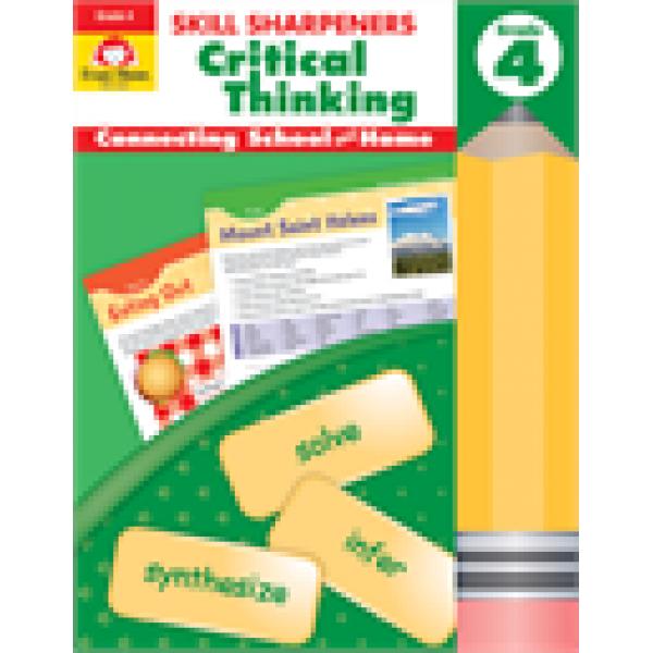 Critical Thinking, Grade 4 Skill Sharpeners