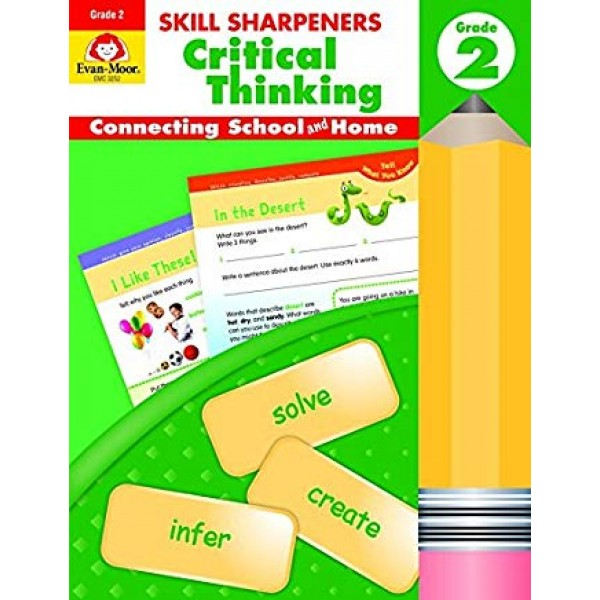 Critical Thinking, Grade 2: Connecting School and Home (Skill Sharpeners)