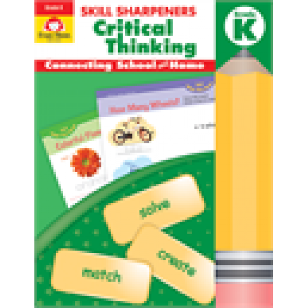 Critical Thinking, Grade K Skill Sharpeners